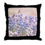 pretty lavender Throw Pillow