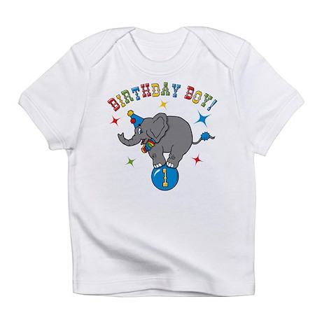 Circus Elephant 1st Birthday Boy Infant T-Shirt