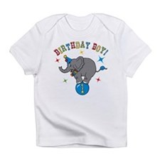 Circus Elephant 1st Birthday Boy Infant T-Shirt
