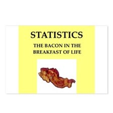 statistics Postcards (Package of 8)