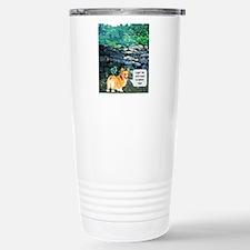 We dont need no stinkn legs Travel Mug