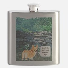 We dont need no stinkn legs Flask