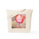 Red Tulip Flower Tote Bag
