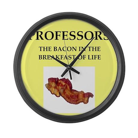 professor Large Wall Clock