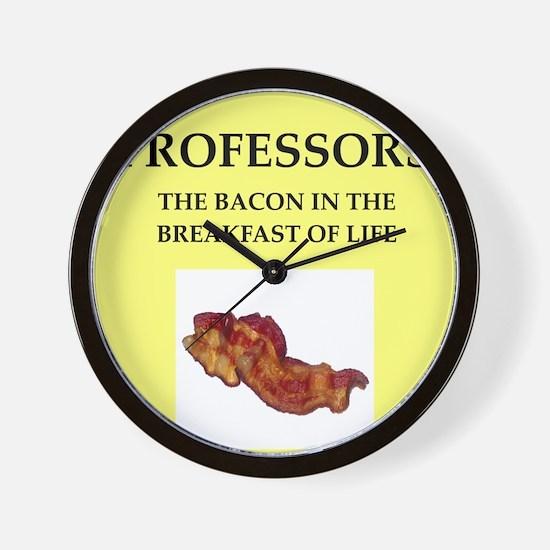 professor Wall Clock