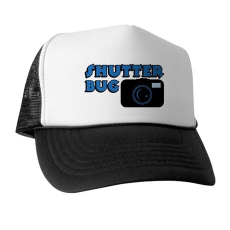 Shutterbug Blue Trucker Hat
