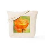 orange iceland poppy Tote Bag