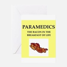 paramedic Greeting Card