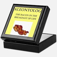 paleontology Keepsake Box