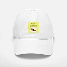 math Baseball Baseball Baseball Cap