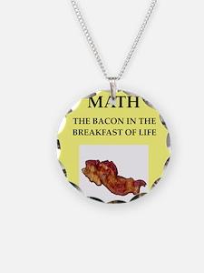 math Necklace