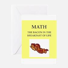 math Greeting Card