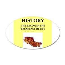 history Wall Decal
