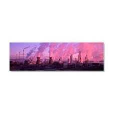 Petrochemical plant - Car magnet 10