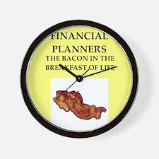 financial planner Wall Clock