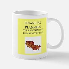 financial planner Mug
