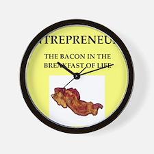 entrepreneur Wall Clock