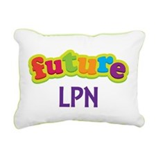 Future LPN Rectangular Canvas Pillow