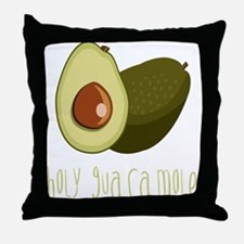 Holy Guacamole Throw Pillow