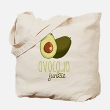 Avocado Junkie Tote Bag