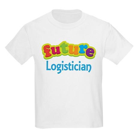 Future Logistician Kids Light T-Shirt