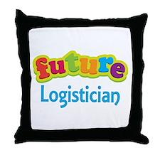 Future Logistician Throw Pillow