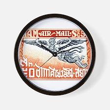 Antique Thailand 1925 Garuda Postage Stamp Wall Cl