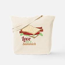 Love Me a Sammich Tote Bag
