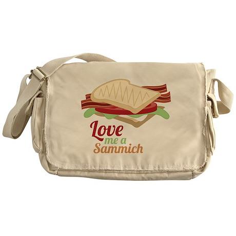 Love Me a Sammich Messenger Bag