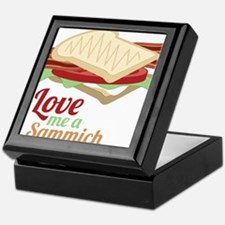 Love Me a Sammich Keepsake Box