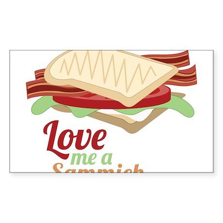 Love Me a Sammich Sticker