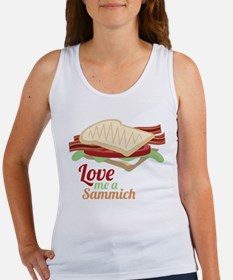 Love Me a Sammich Tank Top