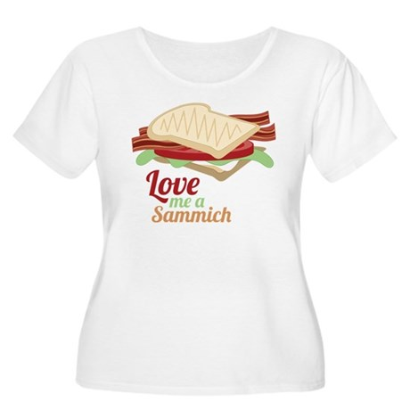 Love Me a Sammich Plus Size T-Shirt