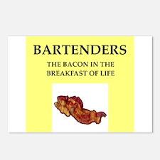 bartender Postcards (Package of 8)