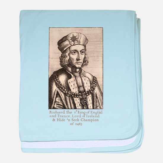 Richard III: Hide 'n Seek Champion baby blanket