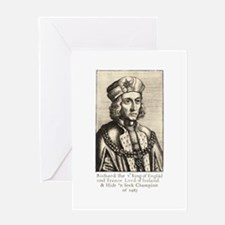 Richard III: Hide 'n Seek Champion Greeting Card