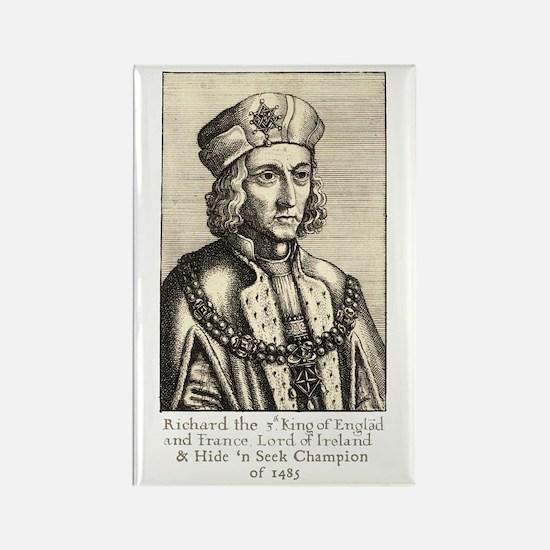 Richard III: Hide 'n Seek Champion Rectangle Magne