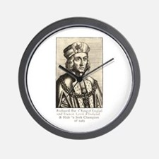 Richard III: Hide 'n Seek Champion Wall Clock