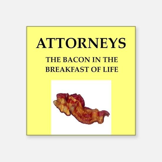 attorney, Sticker
