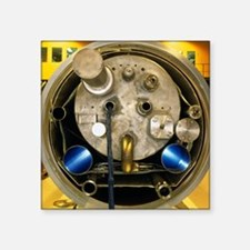 End of magnet for Large Hadron Collider - Square S