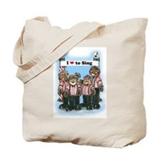 Barbershop Harmony Tote Bag
