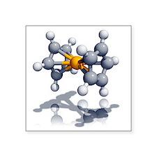 Ferrocene molecule - Square Sticker 3