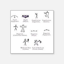 Ideographs, artwork - Square Sticker 3
