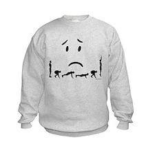 Burpees again Sweatshirt