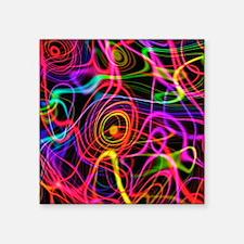 Superstrings, conceptual artwork - Square Sticker