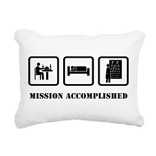 Optometrist Rectangular Canvas Pillow