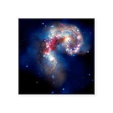 Antennae galaxies, composite image - Square Sticke
