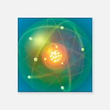 Atomic structure, conceptual artwork - Square Stic