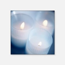 Candles - Square Sticker 3