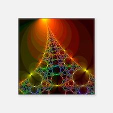 Fractal, artwork - Square Sticker 3